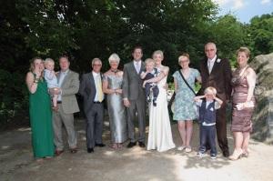 Katherine Richard Central Park Wedding with kids